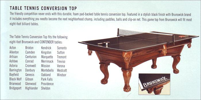 Brunswick Table Tennis